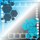 Abstract technology background. Flat design Royalty Free Stock Image