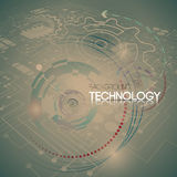 Abstract technology background Royalty Free Stock Photos