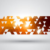Abstract gold and white technology background vector illustration