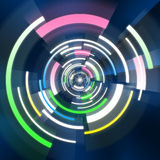 Abstract technology background. Graphic illustration of Abstract technology background Stock Photos