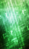 Abstract Technology Background green royalty free illustration
