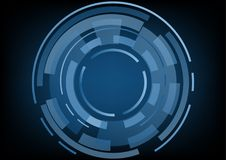 Abstract technology background Hi-tech concept ,Vector Illustrat. Ion Royalty Free Stock Photos