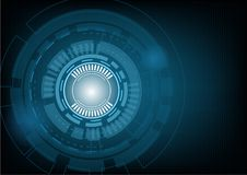 Abstract technology background Hi-tech concept ,Vector Illustrat. Ion Royalty Free Stock Images