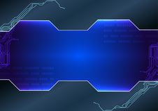 Abstract  technology background. illustration  desig. N Stock Images