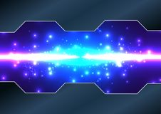 Abstract  technology background. illustration  desig. N Royalty Free Stock Photo