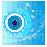 Abstract technology background - Illustration Stock Photos
