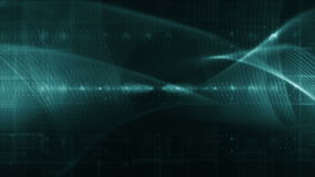 Abstract technology background LOOP diffrent green