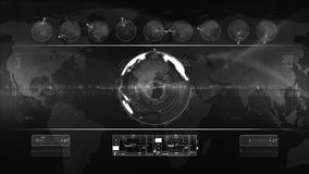 Abstract technology background LOOP stock footage