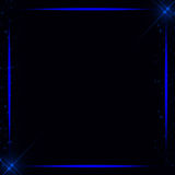 Abstract technology background. Neon frame, lights frame background Royalty Free Stock Images