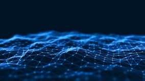 Abstract technology background. Network connection structure. Big data digital background. 3d rendering. Abstract technology background. Network connection stock image