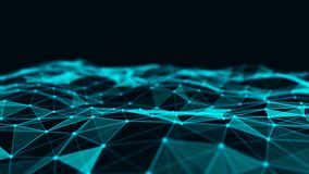 Abstract technology background. Network connection structure. Big data digital background. 3d rendering. Abstract technology background. Network connection royalty free illustration