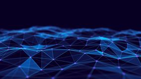 Abstract technology background. Network connection structure. Big data digital background. 3d rendering. Abstract technology background. Network connection vector illustration