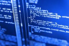 Programming code.