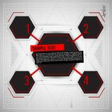 Abstract technology background. Abstract technological background. Vector illustration Royalty Free Stock Photography