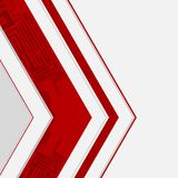 Abstract technology background. Abstract technological background. Vector illustration Royalty Free Stock Images