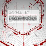 Abstract technology background. Abstract technological background. Vector illustration Stock Image