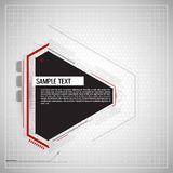 Abstract technology background. Abstract technological background. Vector illustration Royalty Free Stock Photo