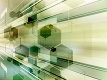 Abstract technology background vector Stock Photo