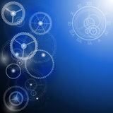 Abstract technology background. Royalty Free Stock Photo