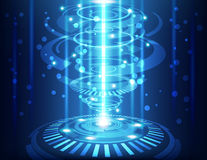 Abstract technology background, vector illustration. Innovation Royalty Free Stock Images