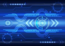 Abstract technology background, vector illustration. Innovation Royalty Free Stock Photos