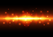 Abstract technology background, vector illustration. Innovation Royalty Free Stock Photo