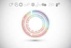 Abstract technology backgrounds Stock Image