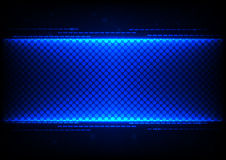 Abstract  technology blue concept design  background Stock Photos