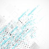 Abstract technology business template background. Royalty Free Stock Photos
