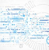 Abstract technology business template background. Stock Image