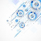 Abstract technology business template background. Stock Photography