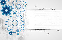 Abstract technology business template background. Royalty Free Stock Photography