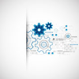 Abstract technology business template background. Royalty Free Stock Photo