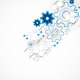 Abstract technology business template background. Stock Images