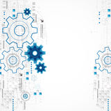 Abstract technology business template background. Stock Photo