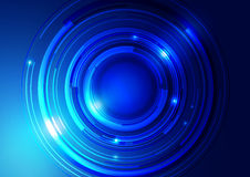 Abstract Technology Circle Background Royalty Free Stock Photos