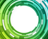 Abstract technology circles. Vector background Royalty Free Stock Photos