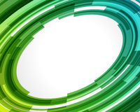 Abstract technology circles. Vector background Stock Photography