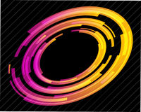 Abstract technology circles. Vector background Royalty Free Stock Photography