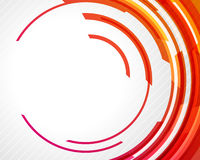 Abstract technology circles. Vector background Stock Image