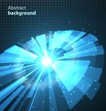 Abstract Technology Circles Background. Vector illustration eps10 Royalty Free Stock Photos