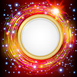Abstract technology circles  background. Stock Images