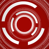 Abstract technology circles background Royalty Free Stock Photos
