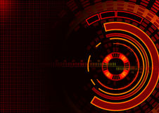 Abstract Technology Circles Background Royalty Free Stock Image