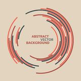 Abstract technology circles vector background vector illustration
