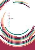 Abstract technology circles vector background Stock Photos
