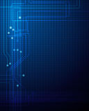 Abstract technology circuit background Stock Photo