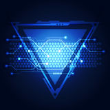 Abstract Technology circuit background vector illustration. Innovation Stock Images