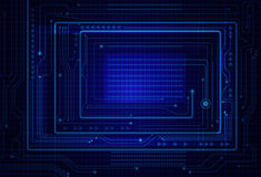 Abstract Technology Circuit board background Stock Photography