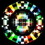 Abstract Technology Color Wheel Digital Camouflage Royalty Free Stock Photo